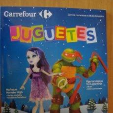CATALOGO JUGUETES CARREFOUR 2013