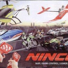 Juguetes antiguos - CATALOGO NINCO - SLOT / RADIO CONTROL / JUNIOR HOBBY - 145103261