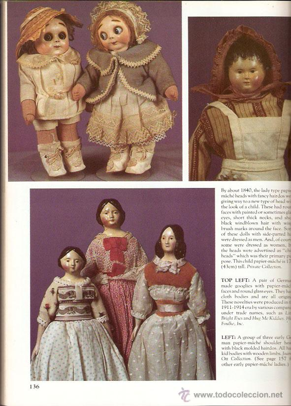 Juguetes antiguos: Muñecas. DOLL CLASSICS. by Jan Foulke. EEUU 1987. 208 pag. 22 x 28 cms. -Vell i Bell - Foto 8 - 40746393