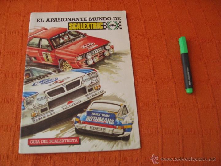 CATALOGO SCALEXTRIC GUIA DEL SCALEXTRISTA 1985 EXIN (Juguetes - Catálogos y Revistas de Juguetes)