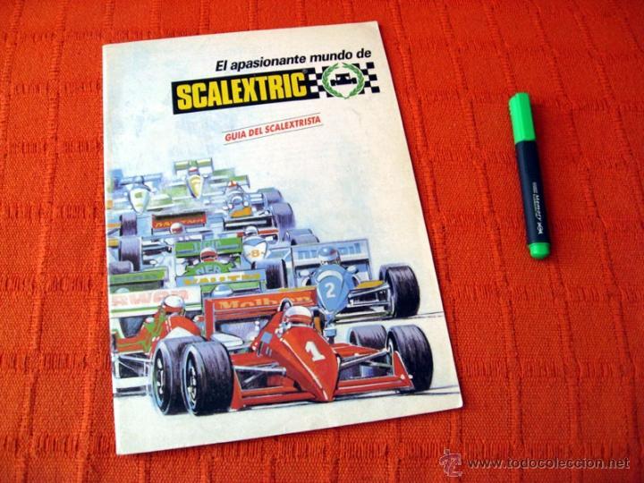 CATALOGO SCALEXTRIC GUIA DEL SCALEXTRISTA 1989 EXIN (Juguetes - Catálogos y Revistas de Juguetes)