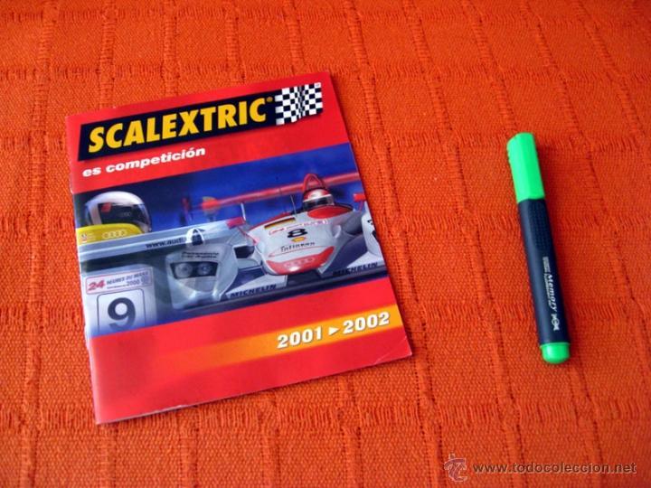 CATALOGO SCALEXTRIC 2001 - 2002 TECNITOYS (Juguetes - Catálogos y Revistas de Juguetes)