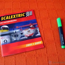 Juguetes antiguos: CATALOGO SCALEXTRIC 2001 - 2002 TECNITOYS. Lote 40872886