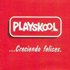 Juguetes antiguos: PLAYSKOOL CATALOGO. Lote 41009117