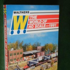 Juguetes antiguos: CATALOGO WALTHERS THE WORLD OF HO SCALE 1991 - TRENES. Lote 41011675