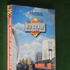 Juguetes antiguos: CATALOGO WALTHERS THE WORLD OF HO SCALE 1992 - TRENES . Lote 41072852