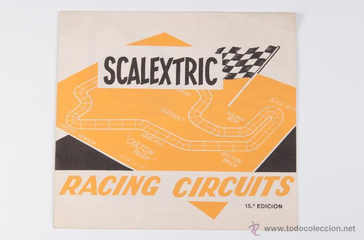 CATALOGO DE RACING CIRCUITS, DE LA MARCA SCALEXTRIC, 15ª EDICION (Juguetes - Catálogos y Revistas de Juguetes)
