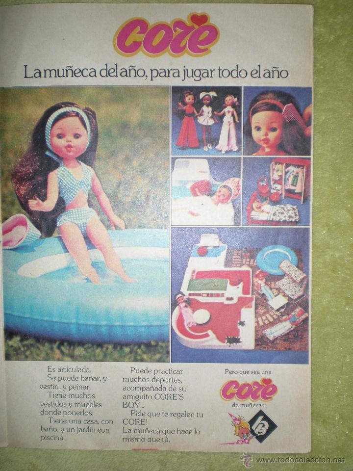 ANTIGUO ANUNCIO PUBLICITARIO DE MUÑECA CORE DE B.B AÑOS 70 SPAIN (Juguetes - Catálogos y Revistas de Juguetes)