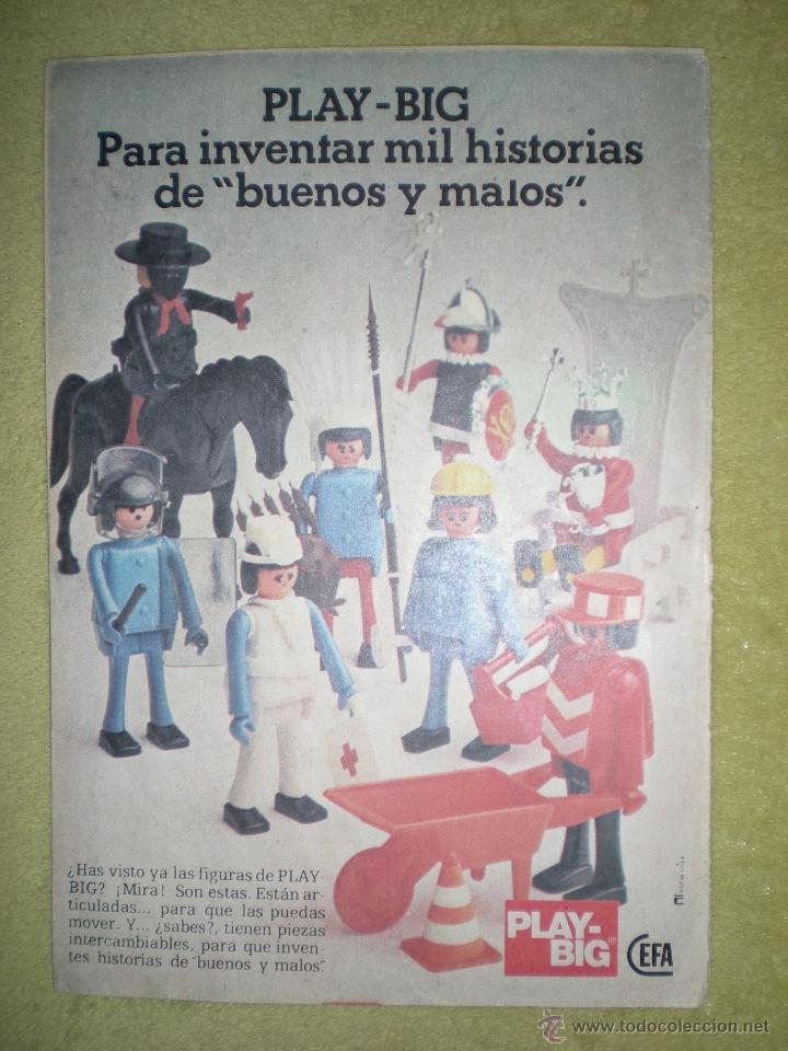 ANTIGUO ANUNCIO PUBLICITARIO DE MUÑECOS PLAY BIG DE CEFA AÑOS 70 (Juguetes - Catálogos y Revistas de Juguetes)