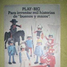 Juguetes antiguos: ANTIGUO ANUNCIO PUBLICITARIO DE MUÑECOS PLAY BIG DE CEFA AÑOS 70 . Lote 41252916