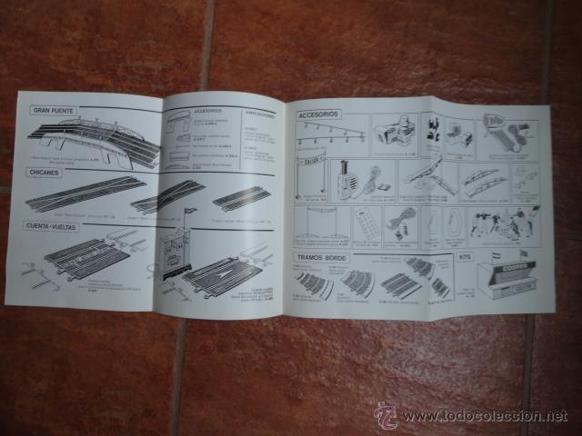 Juguetes antiguos: FOLLETO CATALOGO TRAMOS Y ACCESORIOS SCALEXTRIC CLUB EXIN 4ª EDICION - Foto 2 - 41387365
