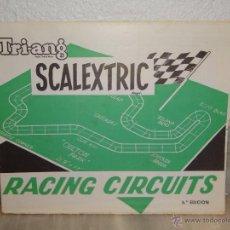 Juguetes antiguos: INSTRUCCIONES SCALEXTRIC RACING CIRCUITS - 6 EDICION - CIRCUITOS ( 1969 ). Lote 41670778