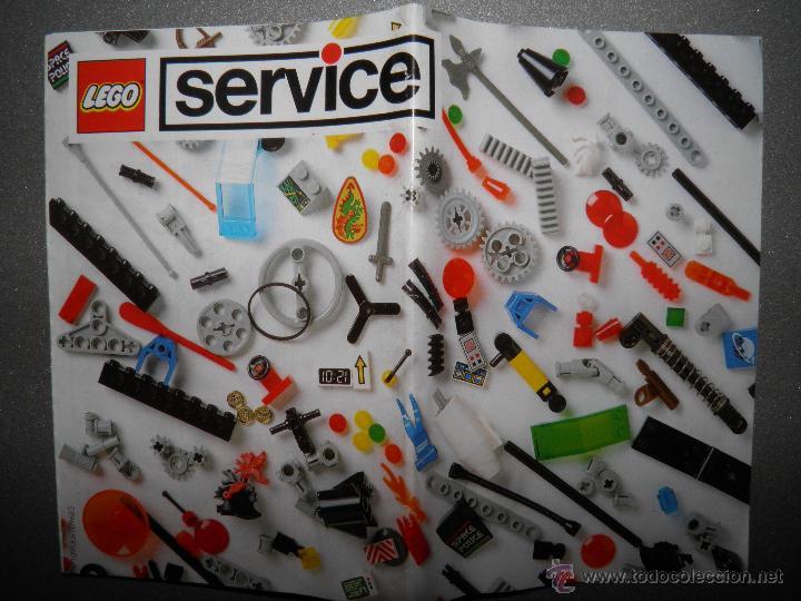 CATALOGO LEGO SERVICE,1993 (Juguetes - Catálogos y Revistas de Juguetes)