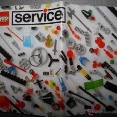Juguetes antiguos: CATALOGO LEGO SERVICE,1993. Lote 41813552