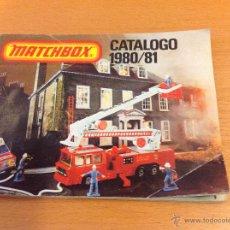 Juguetes antiguos: MATCHBOX CATALOGO 1980-1981 80 PAGINAS. Lote 42201742