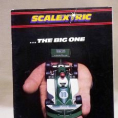 Juguetes antiguos: CATALOGO, SCALEXTRIC, 1980, THE BIG ONE, 21ST EDITION, 36 PAGINAS. Lote 42216042