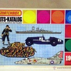 Juguetes antiguos: CATALOGO, MATCHBOX, CATALOGO MODELISMO, 1978, TODAS LAS SERIES, 32 PAGINAS. Lote 42216145