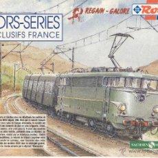 Jouets Anciens: CATÀLOGO ROCO 1995 ? REGAIN-GALORE SACHSEN MODELLE HORS SERIES EXCLUSIFS FRANCE - EN FRANCÉS. Lote 42327897
