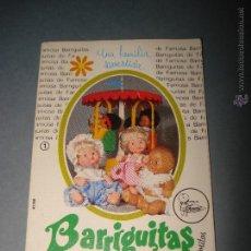 Juguetes antiguos: ANTIGUO CATALOGO DESPLEGABLE - BARRIGUITAS DE FAMOSA - AÑO 1970S.. Lote 42505986