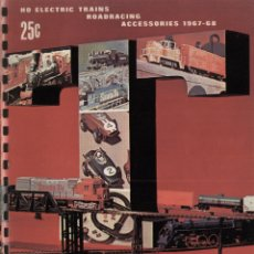 Juguetes antiguos: CATÀLOGO TYCO 1967-68 ELECTRIC TRAINS HO GAUGE 1:87 ROADRACING USA - EN INGLÉS. Lote 42543784