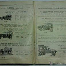 Juguetes antiguos: EXCEPCIONAL CATALOGO DE JUGUETES DE HOJALATA, LE JOUET DE PARIS, J. DE P., AÑO 1923, CON 61 PAG. EN . Lote 42611086