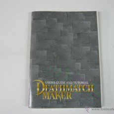 Juguetes antiguos: DEATHMATCH MAKER MANUAL - SOFTWARE - CLÁSICO. Lote 42843079