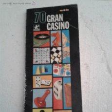 Juguetes antiguos: REGLAMENTO GRAN CASINO 70 BORRAS AÑO 1971. Lote 43024630