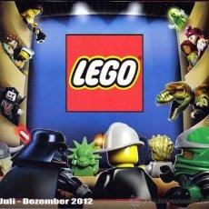 Juguetes antiguos: CATALOGO ALEMAN LEGO JULIO-DICIEMBRE 2012. Lote 43263958