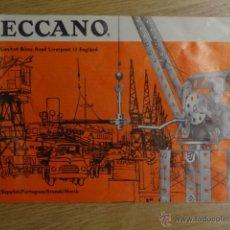 Juguetes antiguos: MECCANO 1 CATALOGO 1969. Lote 43275760