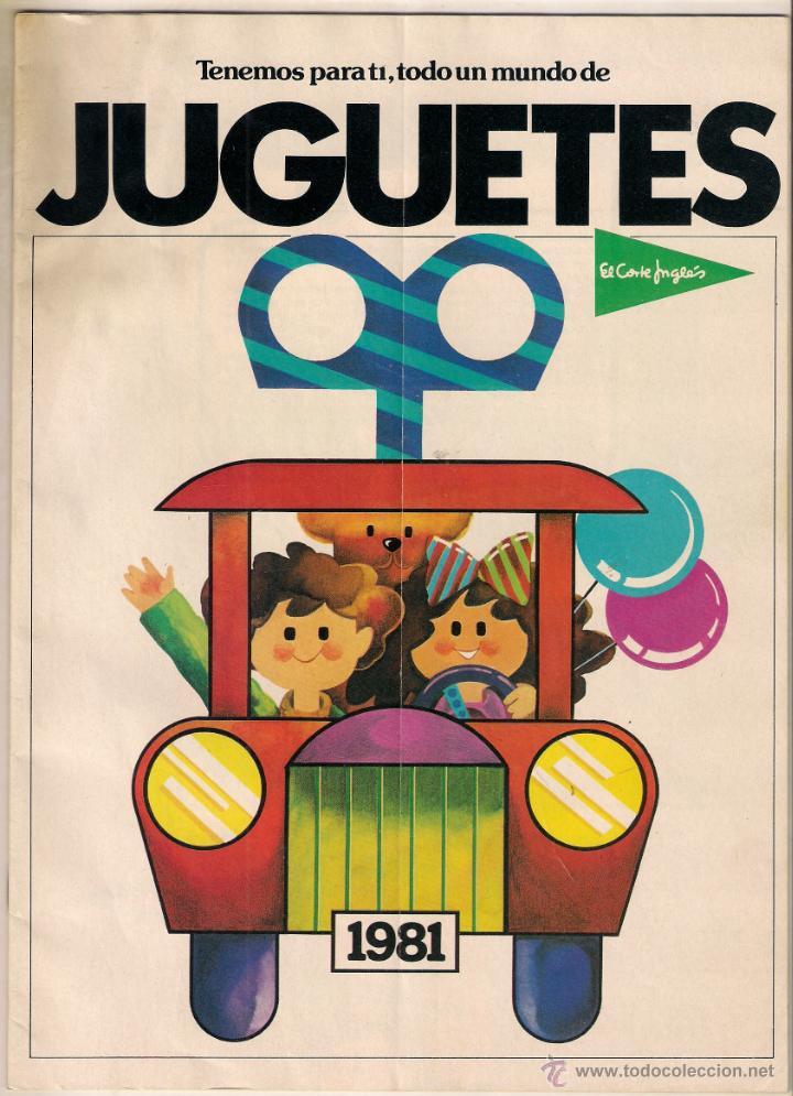 Catalogo juguetes el corte ingles a o 1981 con comprar - Catalogo de juguetes el corte ingles 2014 ...