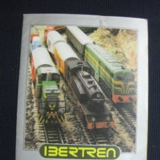 Juguetes antiguos: IBERTREN HO CATALOGO 1980.. Lote 43843167