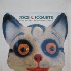 Juguetes antiguos: JOCS & JOGUETS - MUSEU DE JOGUET DE CATALUNYA - FIGUERES - EN CATALÁN - TRIANGLE POSTALS.. Lote 44303743