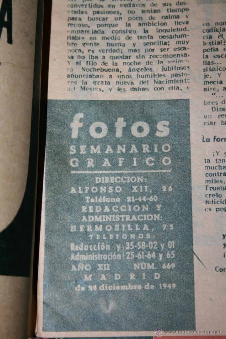 Juguetes antiguos: ANTIGUA REVISTA FOTOS - PORTADA MARIQUITA PEREZ - Foto 2 - 44394047