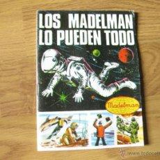 Juguetes antiguos: CATALOGO DE LOS EQUIPOS - LOS MADELMAN LO PUEDEN TODO. Lote 44843386