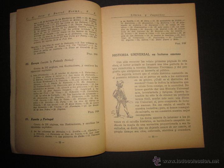 Juguetes antiguos: CATALOGO LIBROS Y JUGUETES SEIX BARRAL - AÑO 1927-(V-1211) - Foto 3 - 45166723