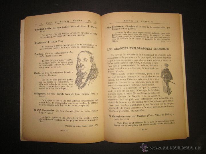 Juguetes antiguos: CATALOGO LIBROS Y JUGUETES SEIX BARRAL - AÑO 1927-(V-1211) - Foto 5 - 45166723