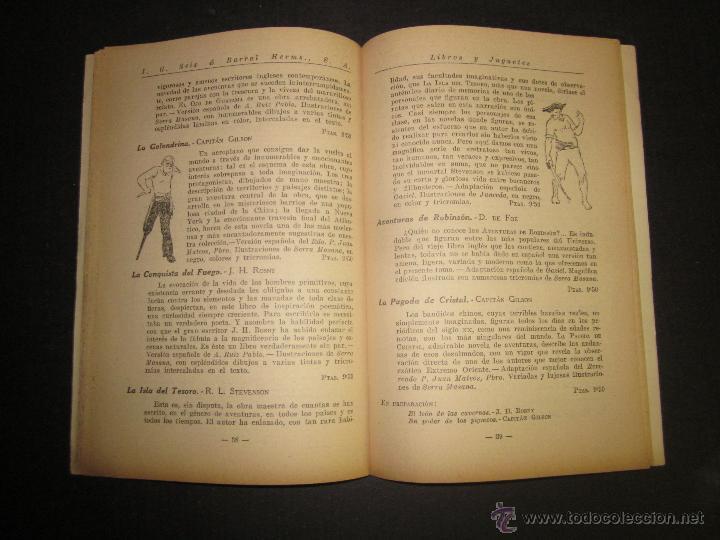 Juguetes antiguos: CATALOGO LIBROS Y JUGUETES SEIX BARRAL - AÑO 1927-(V-1211) - Foto 6 - 45166723