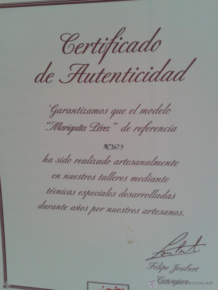 Juguetes antiguos: VARIAS GARANTIAS ,Y FOLLETOS DE MARIQUITA PEREZ ACTUAL ,DE ALTAYA - Foto 4 - 45166824