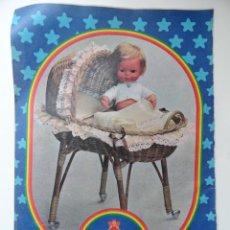 Giocattoli antichi: HOJA PUBLICIDAD MUÑECO BABY BABY MOCOSETE (MUÑECAS TOYSE). Lote 45333515