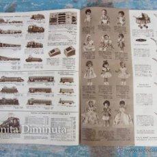 Juguetes antiguos: CATALOGO DE 1960 - ALMACENES VAC - RENE JUNOD SA - LE CHAUX DE FONDS - SUIZA - JUGUETES, MUÑECAS, BI. Lote 45487950
