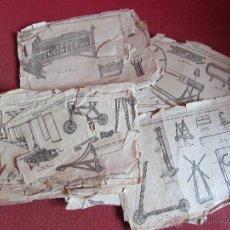 Juguetes antiguos: MECCANO - SIMILAR - ANTIGUO CATALOGO. Lote 45928942