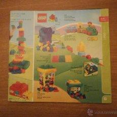 Juguetes antiguos: CATALAGO LEGO -- 6-18 -MESES . Lote 46088296
