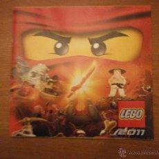 Juguetes antiguos: CATALAGO LEGO 2011- . Lote 46088345