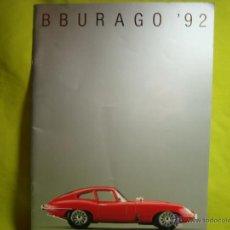 Juguetes antiguos: CATALOGO BBURAGO BURAGO 1992. Lote 46225529