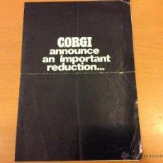 Juguetes antiguos: CORGI TOYS PUBLICIDAD 1970. Lote 46322968
