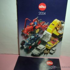 Juguetes antiguos: CATALOGO DE SIKU 2004. Lote 46357661