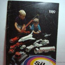 Juguetes antiguos: CATALOGO DE SIKU 1989. Lote 46357829