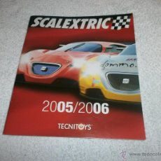 Juguetes antiguos: CATALOGO SCALEXTRIC 2005 - 2006 TECNITOYS . Lote 46415308
