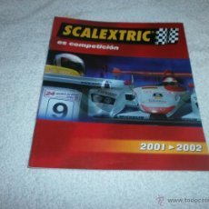 Juguetes antiguos: CATALOGO SCALEXTRIC 2001 - 2002 . Lote 46415324