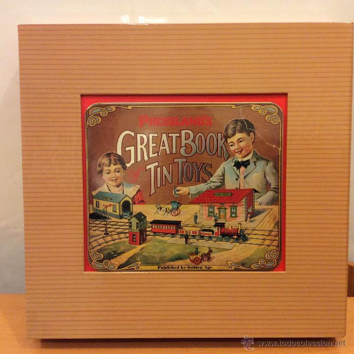 LIBRO GREAT BOOK TIN TOYS DAVID PRESSLAND 1995 (Juguetes - Catálogos y Revistas de Juguetes)